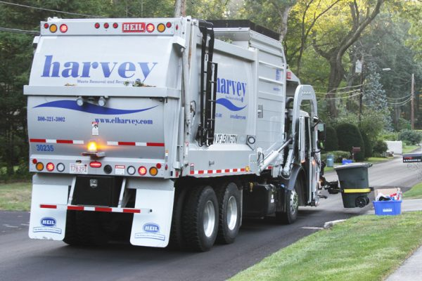Front Load Garbage Truck Residential Trash