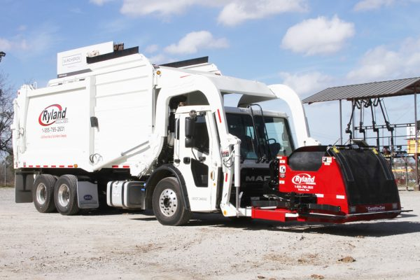 Ryland Environmental Front Load Garbage Truck Curotto