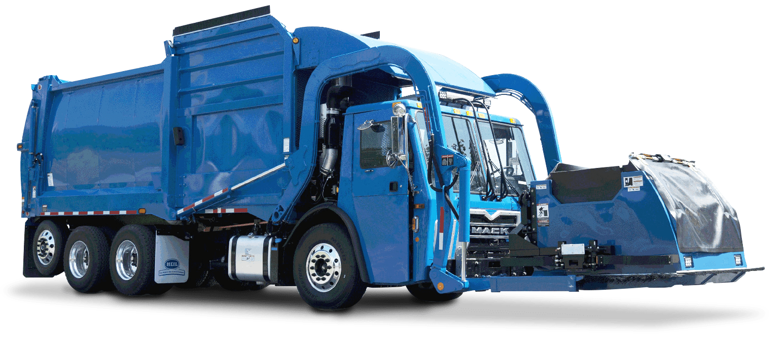 Heil Automated Front Load Garbage Truck