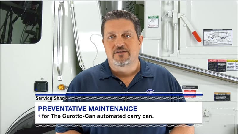 How to do preventative maintenance on Curotto Can